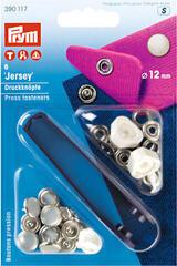 PRYM Non-Sew Fasteners Jersey Brass