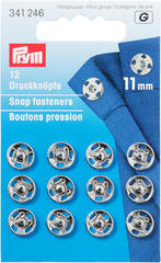 PRYM Sew-On Snap Fasteners Brass