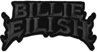 Billie Eilish Flame Patch Black