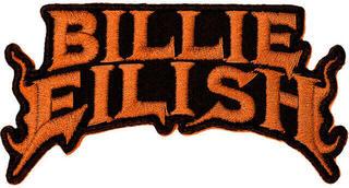 Billie Eilish Flame Patch Orange