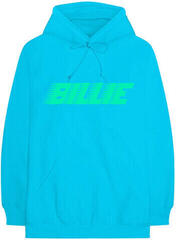 Billie Eilish Logo & Blohsh Pullover Blue L