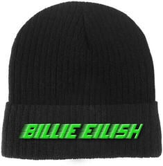 Billie Eilish Racer Logo Beanie Hat