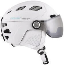 Movement Pilot Women Helmet White/Grey Photochromic