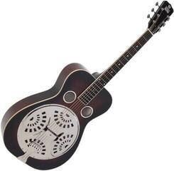 Recording King RR-60-VS Professional Wood Body Squareneck Resonator, Mahogany