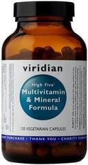 Viridian High Five Multivitamin & Mineral Formula 120 kapsúl