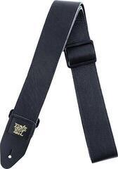 Ernie Ball 4134 2'' Tri-Glide Italian Leather Strap Black
