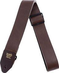 Ernie Ball 4135 2'' Tri-Glide Italian Leather Strap Brown