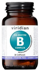 Viridian Co-enzyme B Complex 30 caps.