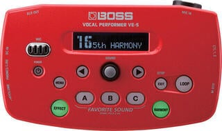 Boss VE-5 Red