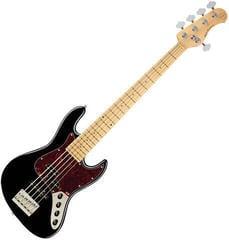Sadowsky MetroExpress Hybrid P/J Bass MN 5-String Solid Black High Polish