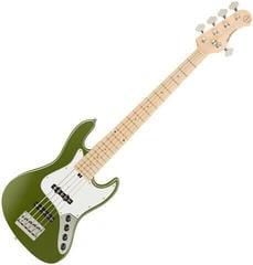 Sadowsky MetroExpress J/J Bass Maple 5 String - Solid Sage Green Metallic