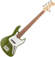 Sadowsky MetroExpress J/J Bass Morado 5 String - Solid Sage Green Metallic