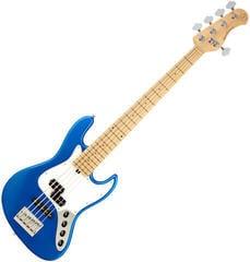 Sadowsky MetroExpress P/J Bass Maple 5 String - Solid Ocean Blue Metallic