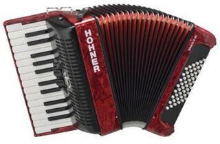 Hohner Bravo II 48 Red