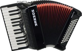 Hohner Bravo II 60 Black Piano accordion