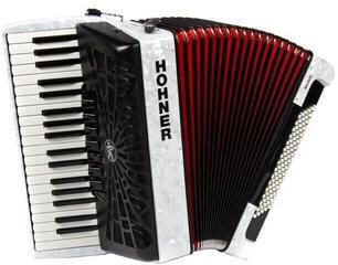 Hohner Bravo III 96 White