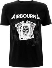 Airbourne Playing Cards Black T-Shirt XL