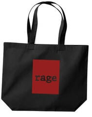 Rage Against The Machine Red Square Sac cabas