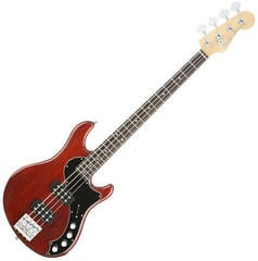 Fender American Elite Dimension Bass IV HH RW Cayenne Burst