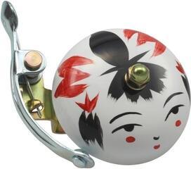 Crane Bell Handpainted Suzu Bell Onna