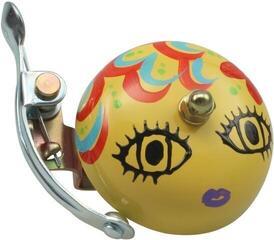 Crane Bell Handpainted Suzu Bell Mika-Chan Yellow