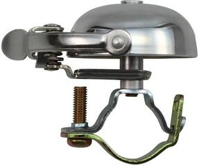 Crane Bell Mini Suzu Bell w/ Steel Band Mount Polished Silver