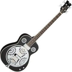 Dean Guitars Resonator Acoustic/Electric Bass - CBK