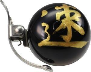 Crane Bell Handpainted Mini Suzu Bell w/ Steel Band Mount Omamori Speed