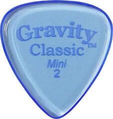 Gravity Picks GCLM2P Classic Mini (Jazz) 2.0mm Polished Blue