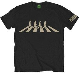 The Beatles Mens Abbey Road Silhouette Black M