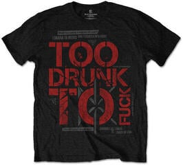 Dead Kennedys Too Drunk Mens Black T Shirt: L