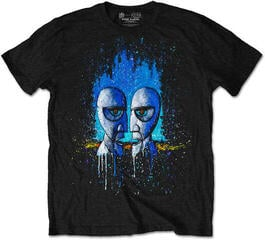 Pink Floyd Division Bell Drip Mens Black T Shirt: L