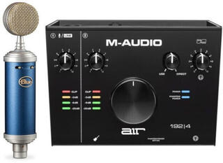 Blue Microphones BlueBird SL + M-Audio AIR 192|4 SET