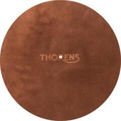 Thorens Leather Mat Brown