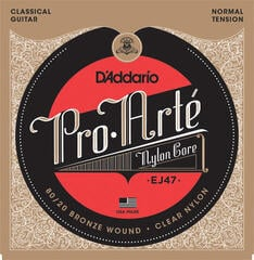 D'Addario EJ47 ProArte Laser Selected Nylon Trebles Normal