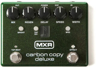 Dunlop MXR M292 Carbon Copy Deluxe Analog Delay