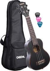 Cascha HH 2300 Premium Mahogany Concert Set Black
