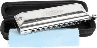 Cascha HH 2272 Chromatic 10-40 Blues Harmonica