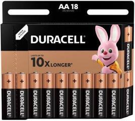 Duracell Basic AA 18 pcs