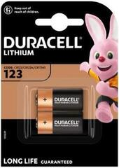 Duracell CR123A 2 pcs