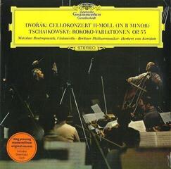 Herbert von Karajan Dvorak & Tchaikovsky Cello Concerto & (LP) 180 g