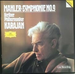 Herbert von Karajan Mahler Symphony No 9 (2 LP) Nové vydání