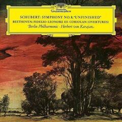 Herbert von Karajan Schubert Beethoven (LP) Reissue
