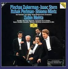 Zubin Mehta Vivaldi Bach Mozart (2 LP)