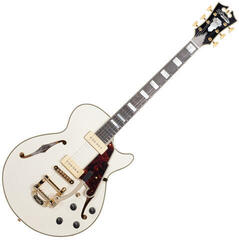 D'Angelico Excel SS Shoreline (with Bigsby) Vintage White