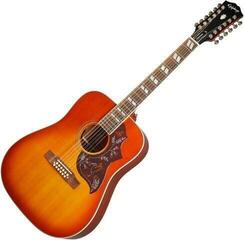 Epiphone Hummingbird 12-string Aged Cherry Sunburst Gloss