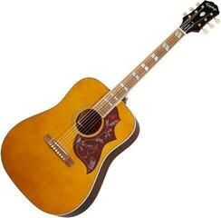Epiphone Hummingbird Aged Natural Antique Gloss