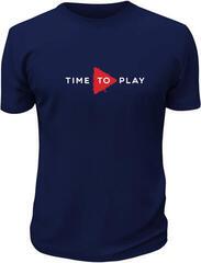 Muziker Time To Play T-Shirt Navy/Red