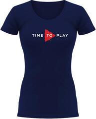 Muziker Time To Play T-Shirt Women