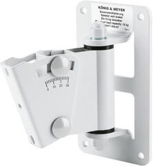 Konig & Meyer 24471  WH Wall mount for speakerboxes